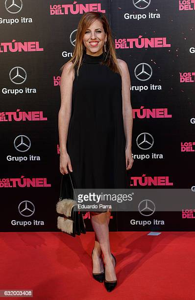 Actress Celia de Molina attends 'Los del Tunel' premiere at Capitol cinema on January 18 2017 in Madrid Spain
