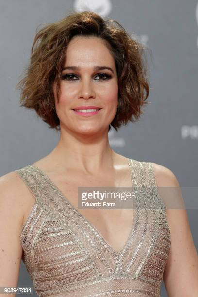 Actress Celia Freijeiro attends Feroz Awards 2018 at Magarinos Complex on January 22 2018 in Madrid Spain