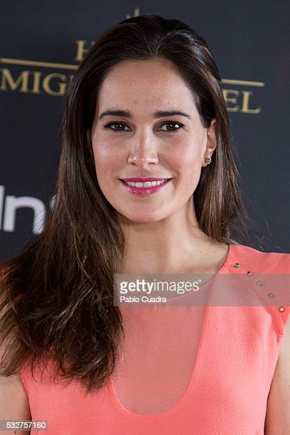 Actress Celia Freijeiro attends the 'Live in Colors' photocall during the InStyle Beauty Day at the Miguel Angel Hotel Garden on May 19 2016 in...