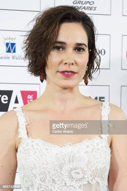Actress Celia Freijeiro attends the Valle Inclan awards 2018 at the Royal Theater on May 7 2018 in Madrid Spain