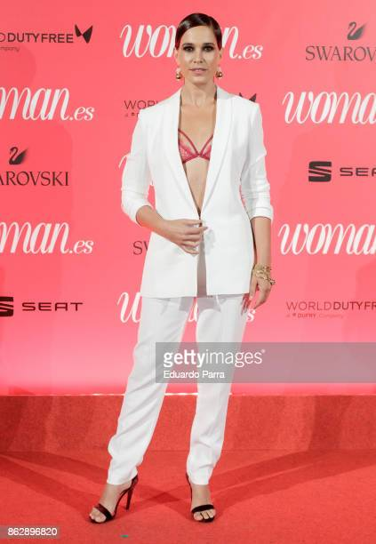 Actress Celia Freijeiro attends the 'Woman 25th anniversary' photocall at Madrid Casino on October 18 2017 in Madrid Spain