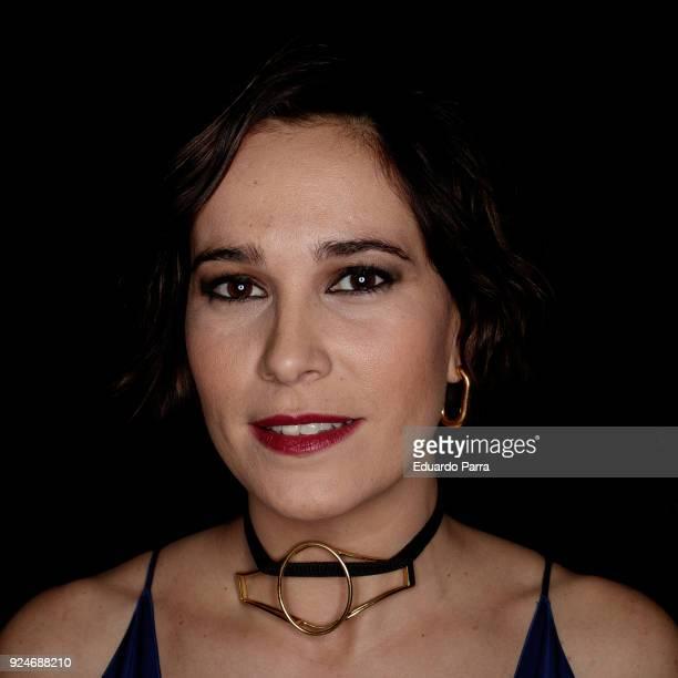 Actress Celia Frijeiro attends the 'Fotogramas de Plata' awards at Joy Slava disco on February 26 2018 in Madrid Spain