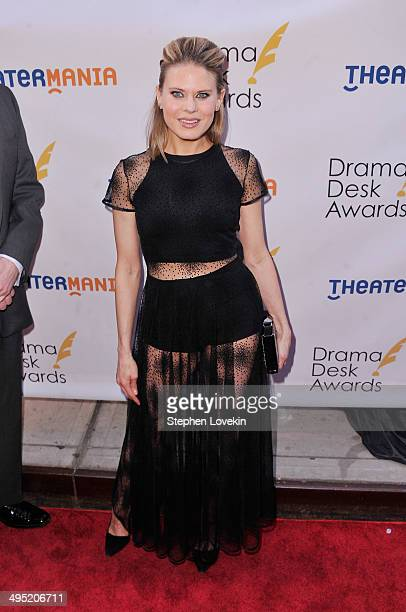 Actress Celia KeenanBolger attends the 2014 Drama Desk Awards at Town Hall on June 1 2014 in New York City