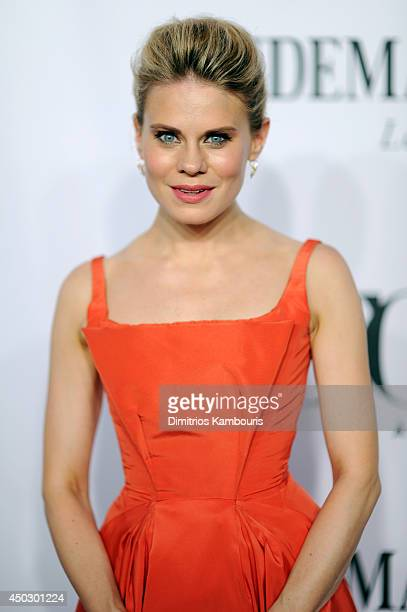 Actress Celia KeenanBolger attends the 68th Annual Tony Awards at Radio City Music Hall on June 8 2014 in New York City