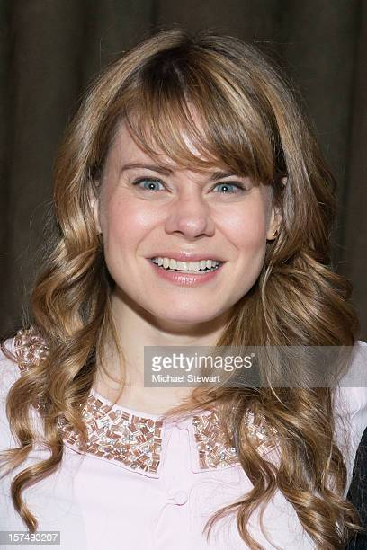 Actress Celia KeenanBolger attends the after party for the 25th anniversary celebrity stage reading of Steel Magnolias at Veranda on December 3 2012...