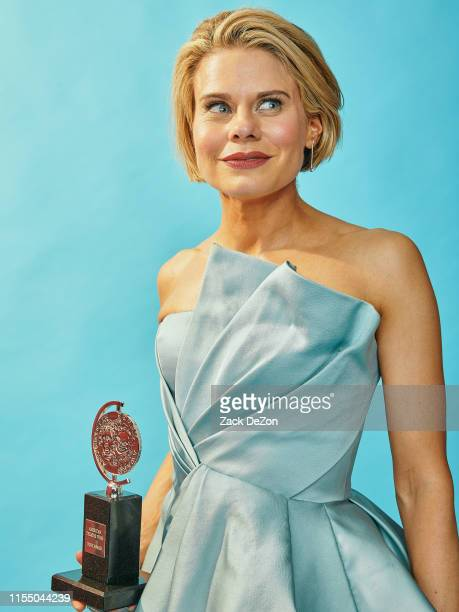 Actress Celia KeenanBolger winner of the award for best featured Actress in a play To Kill a Mockingbird poses for a portrait during the 73rd Annual...