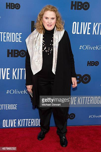 Actress Celia Watson attends the 'Olive Kitteridge New York Premiere at SVA Theater on October 27 2014 in New York City
