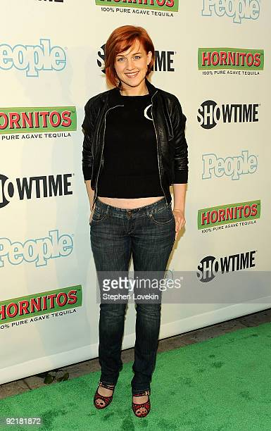 Actress Celina Carvajal attends the Bon Jovi When We Were Beautiful New York premiere at the SVA Theater on October 21 2009 in New York City