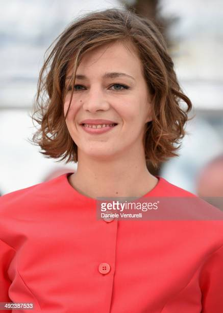 Actress Celine Sallette attends the Geronimo photocall at the 67th Annual Cannes Film Festival on May 20 2014 in Cannes France