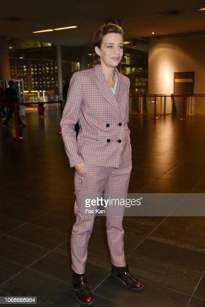 Actress Celine Sallette attends the 'Mobile Film Festival Stand Up 4 Human Rights Awards' Ceremony Hosted by Youtube Creators For Change at Cinema...