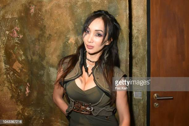 Actress Celine Tran Attend 'The End Apocalypse Party' at Hotel Kube on September 29 2018 in Paris France