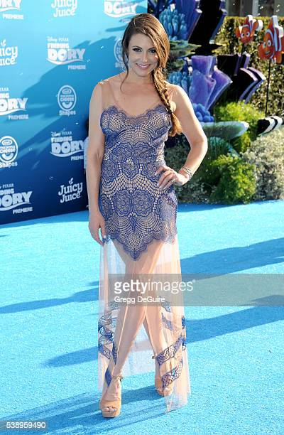Actress Cerina Vincent arrives at the World Premiere of DisneyPixar's Finding Dory at the El Capitan Theatre on June 8 2016 in Hollywood California