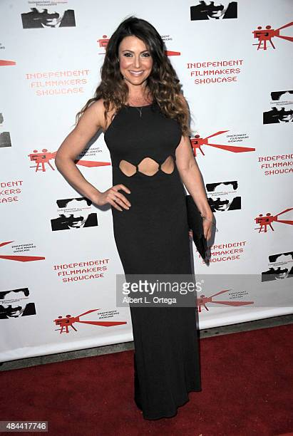 Actress Cerina Vincent arrives for the Screening of LA Slasher as part of the Independent Filmmakers Showcase Festival held at the Laemmle Music Hall...