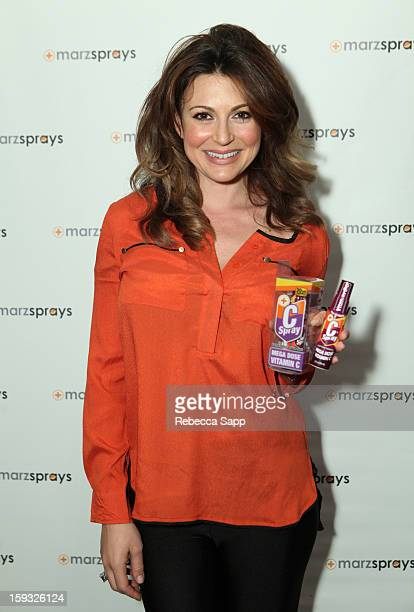 Actress Cerina Vincent attends Kari Feinstein's PreGolden Globes Style Lounge at the W Hollywood on January 11 2013 in Hollywood California