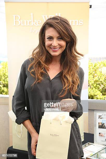 Actress Cerina Vincent attends PILOT PEN GBK's PreEmmy Luxury Lounge Day 2 at L'Ermitage Beverly Hills Hotel on September 17 2016 in Beverly Hills...