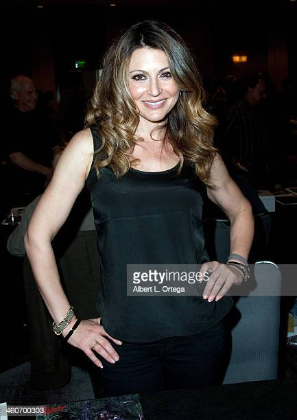 Actress Cerina Vincent attends The Hollywood Show at Lowes Hollywood Hotel on January 4 2014 in Hollywood California