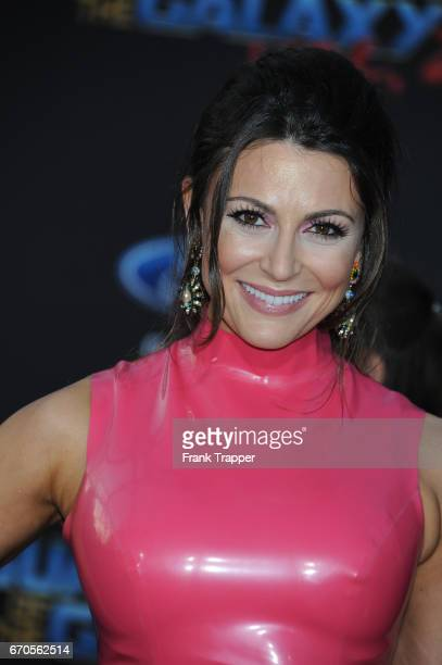 Actress Cerina Vincent attends the premiere of Disney and Marvel's Guardians Of The Galaxy Vol 2 at the Dolby Theatre on April 19 2017 in Hollywood...