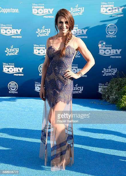 Actress Cerina Vincent attends the world premiere of DisneyPixar's 'Finding Dory' at the El Capitan Theatre on June 8 2016 in Hollywood California