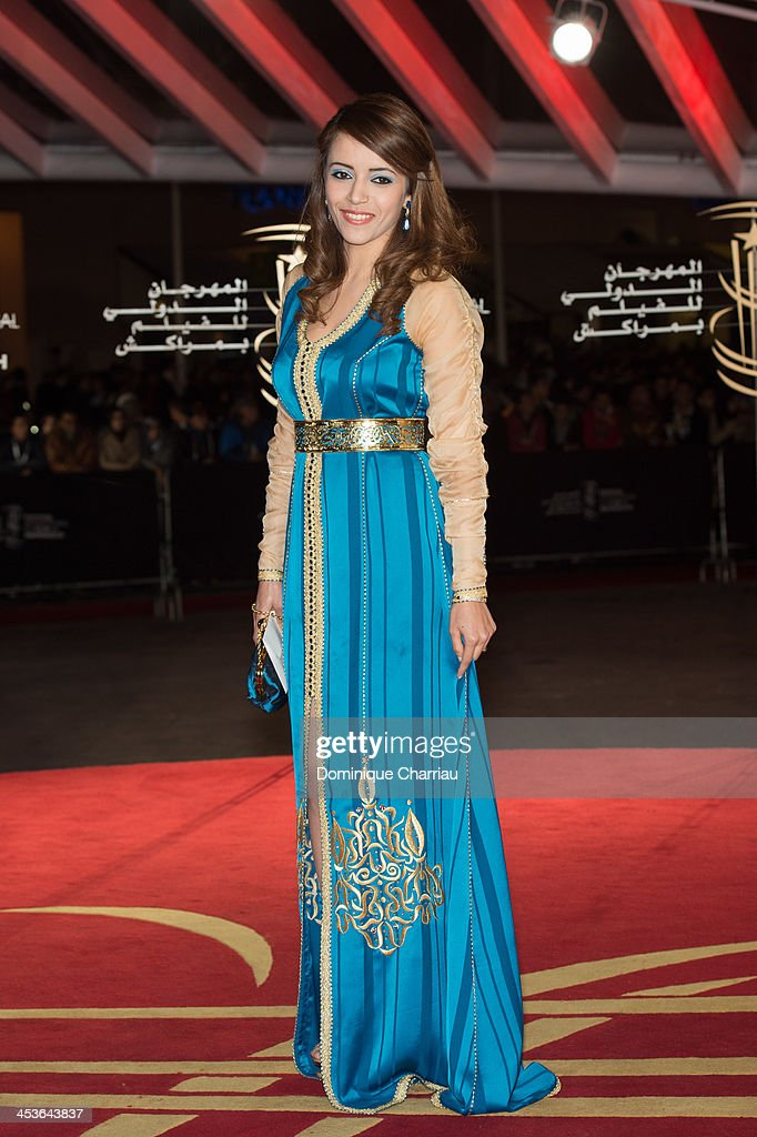 Actress Chaimae Ben Acha attends the 'Waltz With Monica' Premiere At 13th Marrakech International Film Festival on December 4, 2013 in Marrakech, Morocco.