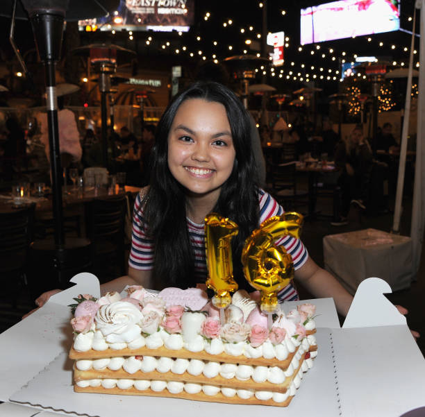 CA: Sweet 16 Birthday Party For Actress Chalet Lizette Brannan