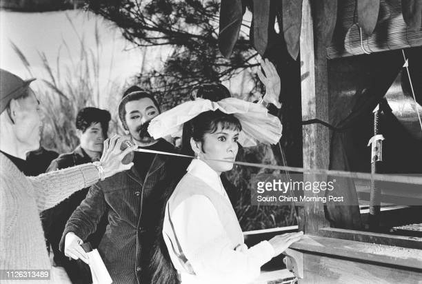 Actress Chan See-see, one of the three princesses of the communist film industry in the 1960s, along with Shek Wai and Hsia Moon. 27 February 1969