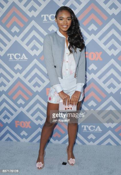 Actress Chandler Kinney arrives at the 2017 Fox Summer TCA Tour at the Soho House on August 8 2017 in West Hollywood California