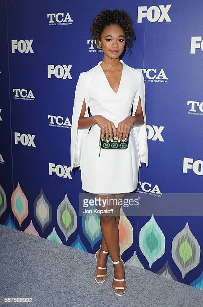 Actress Chandler Kinney arrives at the FOX Summer TCA Press Tour on August 8 2016 in Los Angeles California