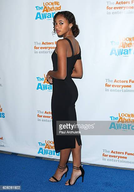 Actress Chandler Kinney attends the Actors Fund's 2016 'Looking Ahead' awards at Taglyan Complex on December 6 2016 in Los Angeles California