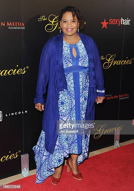 Actress Chandra Wilson arrives 38th Annual Gracie Awards Gala at The Beverly Hilton Hotel on May 21 2013 in Beverly Hills California