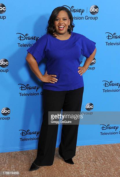 Actress Chandra Wilson arrives at the 2013 Disney/ABC Television Critics Association's summer press tour party at The Beverly Hilton Hotel on August...