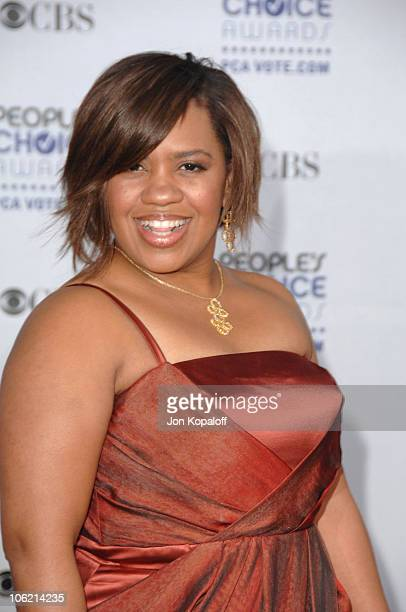 Actress Chandra Wilson arrives at the 35th Annual People's Choice Awards held at the Shrine Auditorium on January 7 2009 in Los Angeles California
