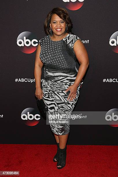 Actress Chandra Wilson attends the 2015 ABC NY Upfront Presentation at Avery Fisher Hall at Lincoln Center for the Performing Arts on May 12 2015 in...