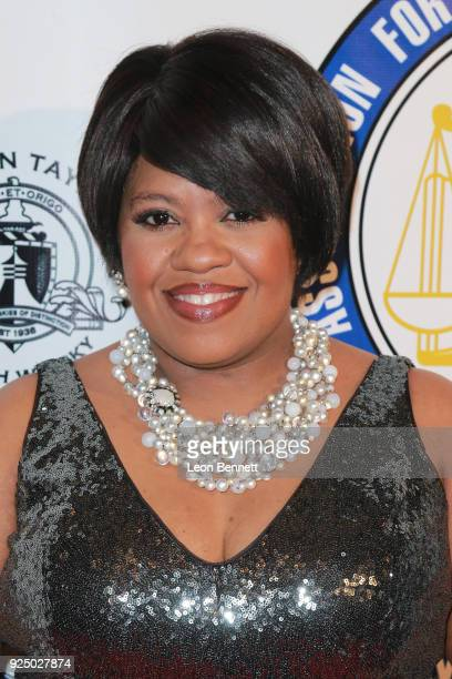 Actress Chandra Wilson attends the 27th Annual NAACP Theatre Awards at Millennium Biltmore Hotel on February 26 2018 in Los Angeles California