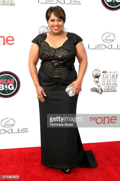Actress Chandra Wilson attends the 45th NAACP Image Awards held at the Pasadena Civic Auditorium on February 22 2014 in Pasadena California