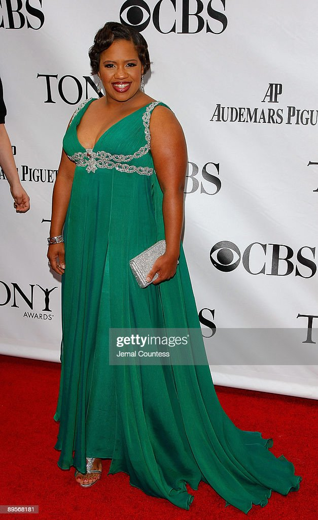 Actress Chandra Wilson attends the 63rd Annual Tony Awards at Radio City Music Hall on June 7, 2009 in New York City.