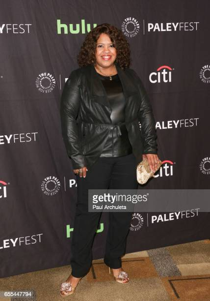 Actress Chandra Wilson attends the The Paley Center For Media's 34th Annual PaleyFest Los Angeles 'Grey's Anatomy' at Dolby Theatre on March 19 2017...