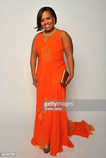 Actress Chandra Wilson poses for a portrait during the 40th NAACP Image Awards held at the Shrine Auditorium on February 12 2009 in Los Angeles...
