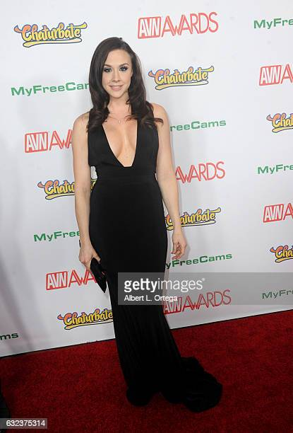 Actress Chanel Preston arrives at the 2017 Adult Video News Awards held at the Hard Rock Hotel Casino on January 21 2017 in Las Vegas Nevada