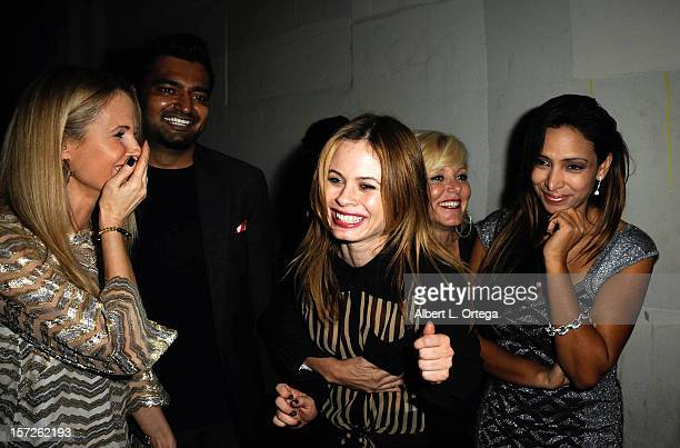 Actress Chanel Ryan actress Augie Duke actress Noel Thurman and actress Nadia Dawn attend the Birthday Party for Model/actress Chanel Ryan also...