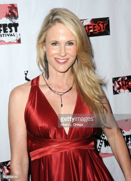 Actress Chanel Ryan attends the ShockFest Film Festival Awards held at Raleigh Studios on January 11 2014 in Los Angeles California