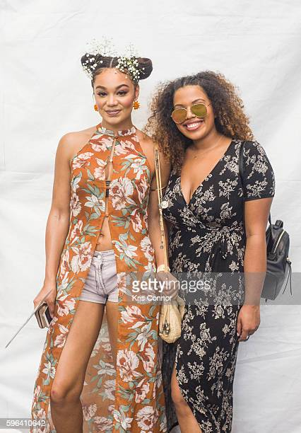 Actress Chanta Patton poses a photo during the 12th Annual Afropunk Brooklyn Festival at Commodore Barry Park on August 27 2016 in New York City
