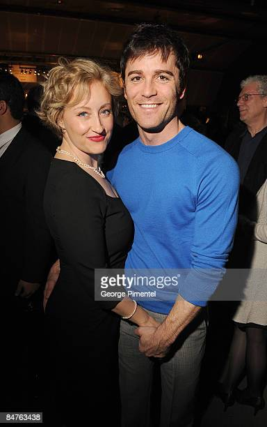 Actress Chantal Craig and actor Yannick Bisson attend the Canadian Film Centre 2009 Gala and Auction at the Kool Haus on February 11 2009 in Toronto...