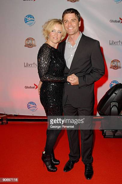 Actress Chantal Craig and Actor Yannick Bisson attends the Entertainment Tonight Party during the 2009 Toronto International Film Festival on...