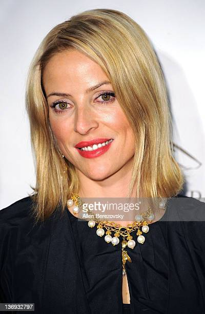 Actress Chantal Sutherland arrives at the Los Angeles Derby prelude party at The London Hotel on January 12 2012 in West Hollywood California