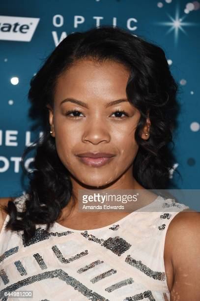 Actress Chante Adams arrives at the Essence 10th Annual Black Women in Hollywood Awards Gala at the Beverly Wilshire Four Seasons Hotel on February...