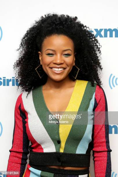 Actress Chante Adams visits SiriusXM Studios on March 20 2018 in New York City