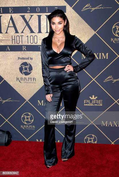 Actress Chantel Jeffries attends The 2017 MAXIM Hot 100 Party produced by Karma International at The Hollywood Palladium in celebration of MAXIMÕs...
