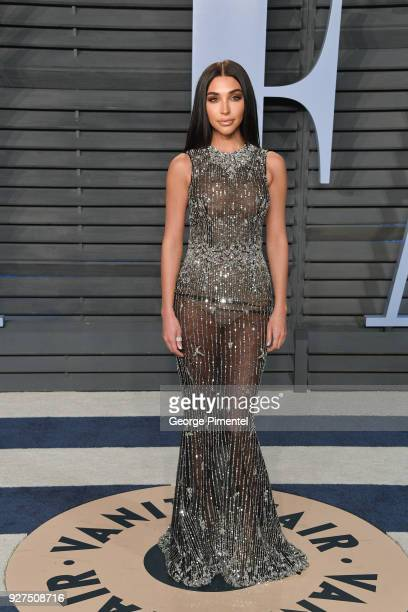 Actress Chantel Jeffries attends the 2018 Vanity Fair Oscar Party hosted by Radhika Jones at Wallis Annenberg Center for the Performing Arts on March...