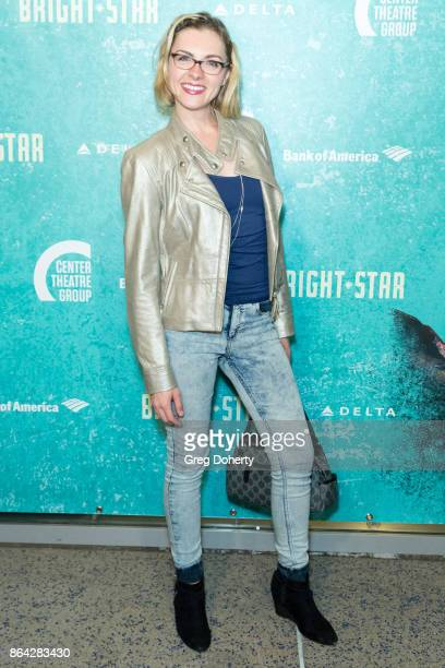 Actress Chantelle Albers arrives at the Opening Night Of Bright Star at Ahmanson Theatre on October 20 2017 in Los Angeles California