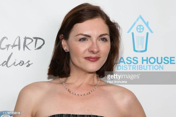 Actress Chantelle Albers attends the premiere of Trauma Therapy at the Harmony Gold Theater on October 01 2019 in Los Angeles California